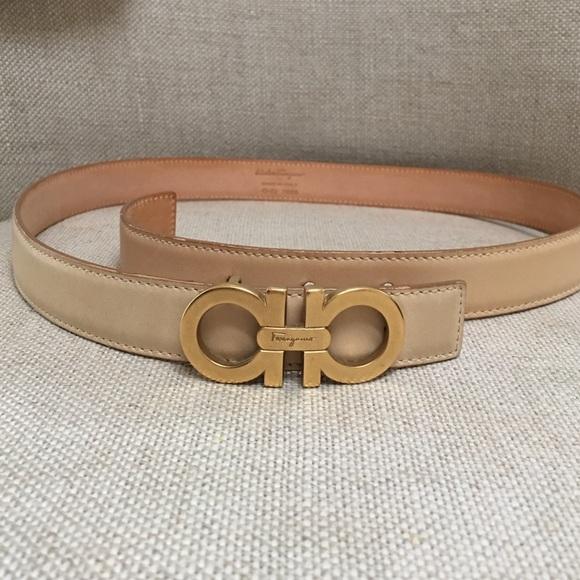 fa69f2903bbb Ferragamo Accessories - Salvatore Ferragamo Small Double Gancio Belt