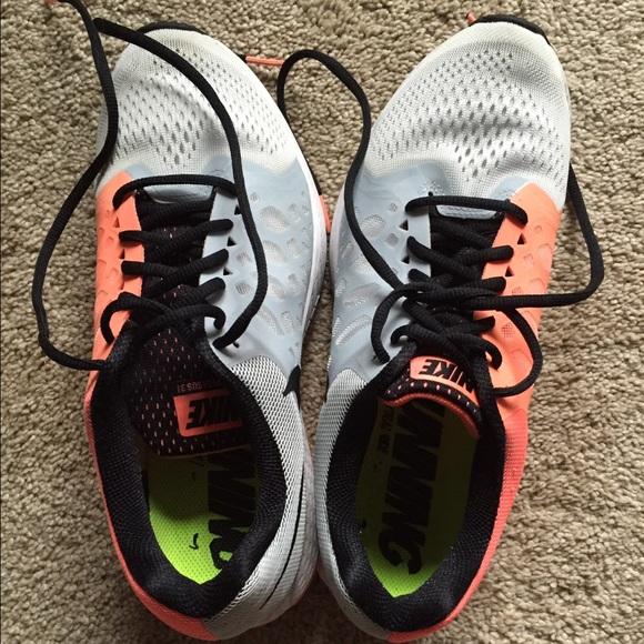 best cheap ef807 73245 ... nike shoes nike pegasus 31 coral orange grey white nike zoom .