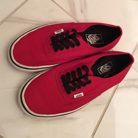 black vans red laces \u003e Up to 74% OFF
