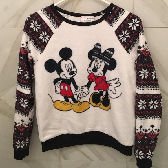mickey minnie christmas sweater - Disney Christmas Sweaters