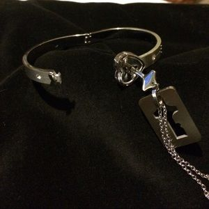 Jewelry - 🎉HP Lock/key bracelet & necklace set
