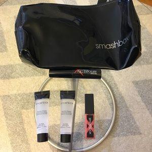 NEW Smashbox Cosmetic Bag Primer Lip Gloss Mascara