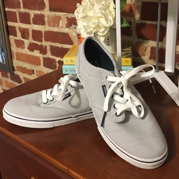vans atwood low black off white