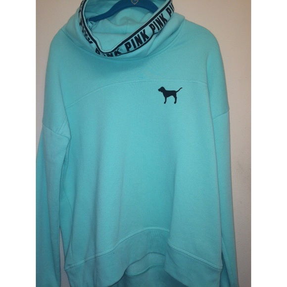 PINK Victoria's Secret - Vs PINK mint green sweatshirt hoodie from ...