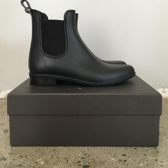 dfff8f699ae1 J. Crew Shoes | J Crew Matte Chelsea Rain Boots | Poshmark