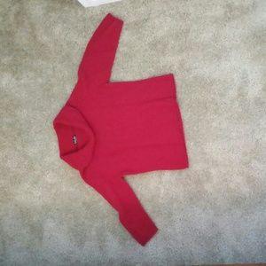 Rafaella red sweater.