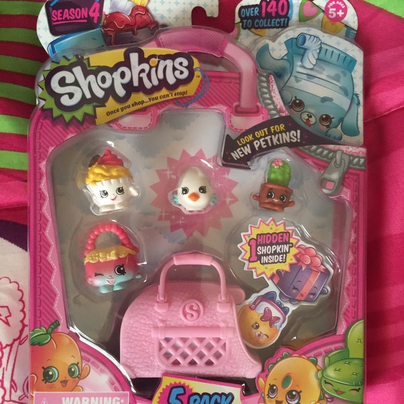 Season 4 Shopkins 5 Pack