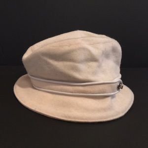 Coach Accessories - Coach wool bucket hat with silver detailing. M/L.