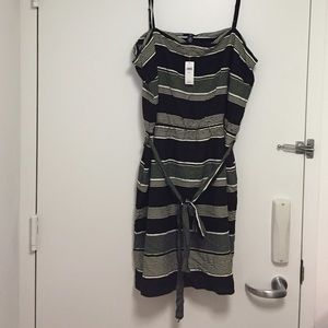 GAP Dresses & Skirts - Gap Black Striped Dress