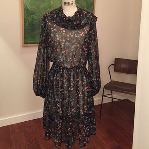 Medium sheer vintage dress