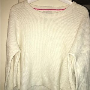 A knitted sweater