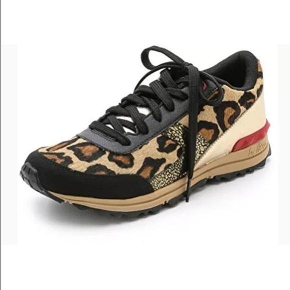 66de8abe34a7 Sam Edelman Dax leopard gold red multi Sneakers. M 568065b115c8afae5d03cc36