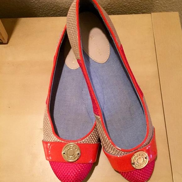 0b8ddac6 Tommy Hilfiger Shoes | 1230 Hp Adorable Tweed Flats | Poshmark