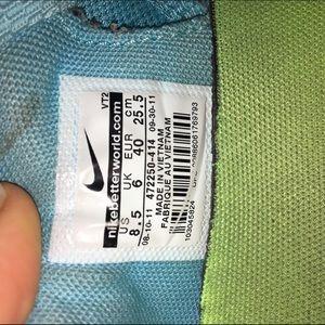 purchase cheap 19316 76a53 Nike Shoes - Tiffany Blue Nike Gym Shoes