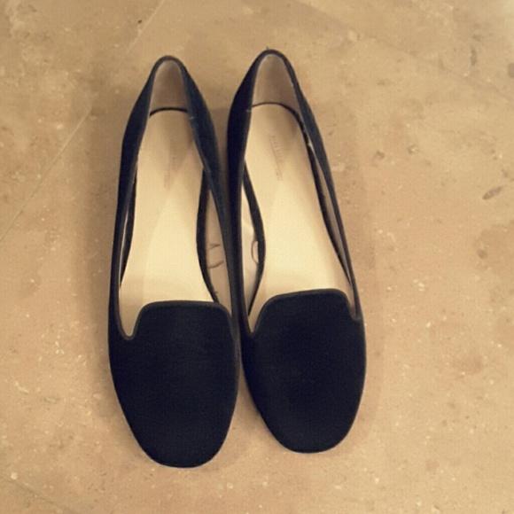 39051dc65c1 Zara velvet loafers. M 56806e6f4127d07ee5007f73