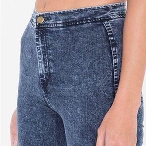 American Apparel Acid Wash Easy Jean