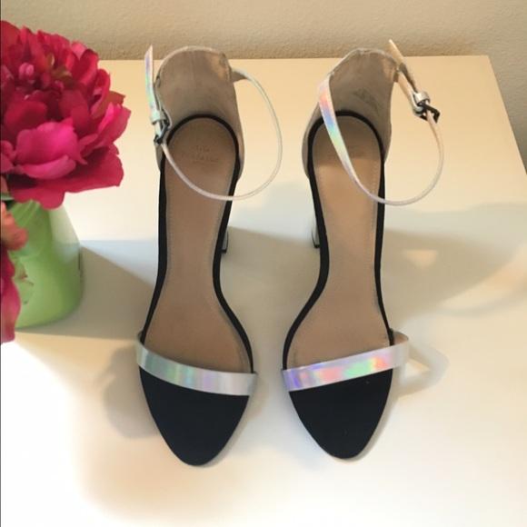 Zara Shoes - Zara Holographic Sandals