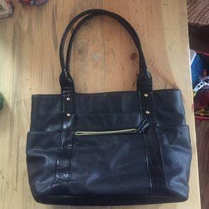 avon faux ostrich purse