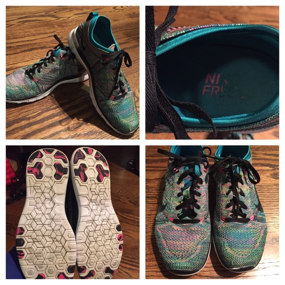 Gently Used Nike Free Running Shoes Sz 8.5