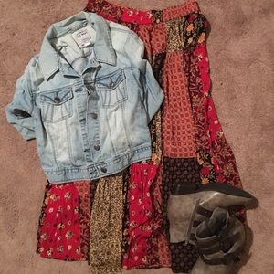 Sag Harbor Dresses & Skirts - 💝Bohemian skirt💝