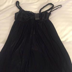 NWT black metallic Buffalo dress