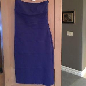 NWT! DVF Kimeena Dress in Blue Jay