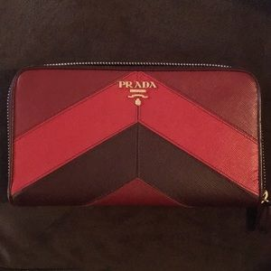 31% off Prada Handbags - Prada Saffiano Leather Document Holder ...