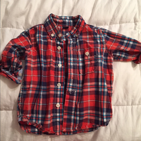 bec5a875c GAP Other | Infant Boy Button Up Shirt | Poshmark