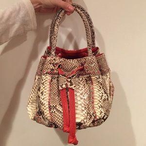 90% off Yves Saint Laurent Handbags - Authentic YSL Velvet Handbag ...