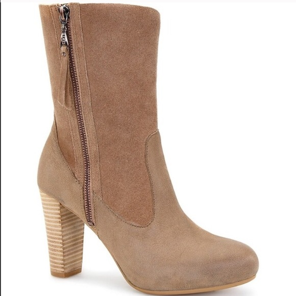 ugg athena zip up boots