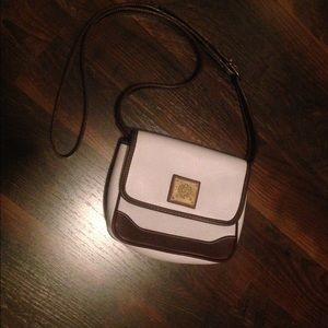 Handbags - White and brown purse