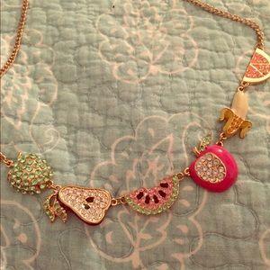 Cute fruit necklace