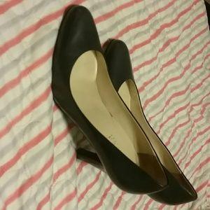 Ralph Lauren classic heels blue