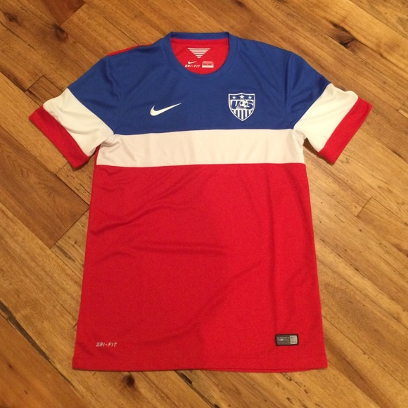 Nike Tops - Authentic Team USA Soccer Jersey