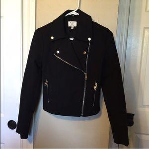 Black Motto Style Jacket