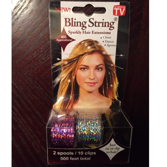 As Seen On Tv Accessories Bling String Hair Poshmark