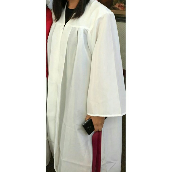 Jostens - Jostens White Graduation Gown from Tina's closet on Poshmark