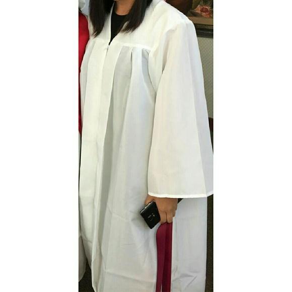 Jostens Other White Graduation Gown Poshmark