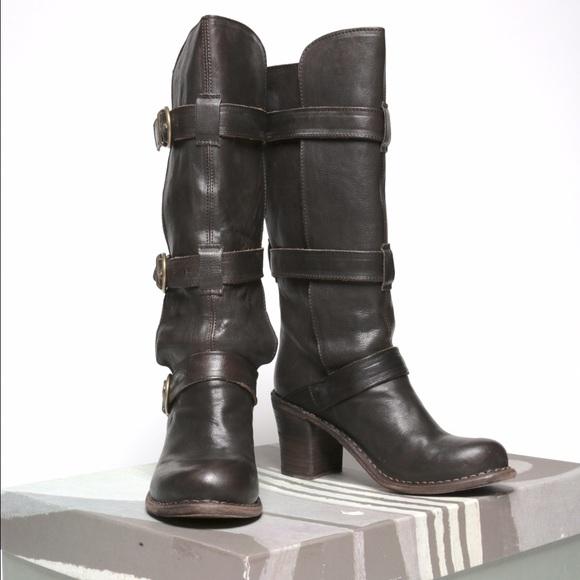 FIORENTINI + BAKER Buckle boots yxGQ7
