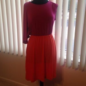 Dresses & Skirts - Purple & orange dress NWT
