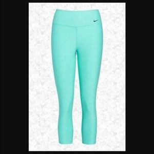 Nike - RARE TIFFANY BLUE NIKE LEGGINGS from Amandau0026#39;s closet on Poshmark