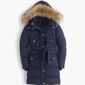 J. Crew Jackets & Blazers - ‼️❌SOLD❌‼️J. Crew Wintress Puffer Coat w/ Faux Fur