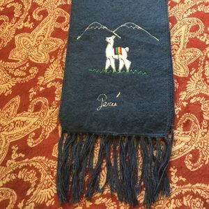 Accessories - **SALE** Peruvian llama hair scarf