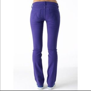 Denim - 👾Delia's brand purple boot cut jeans