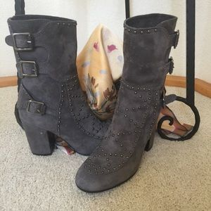 Laurence Dacade Shoes - Laurence Dacade of Paris Studded Booties 38 1/2