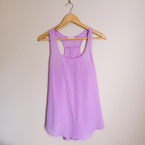 b5c66963e119b Anthropologie Tops - Pastel Purple Tank Top