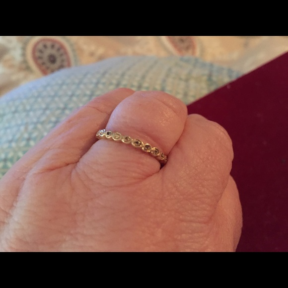 25 off pandora jewelry pandora 14k roses ring from lori. Black Bedroom Furniture Sets. Home Design Ideas