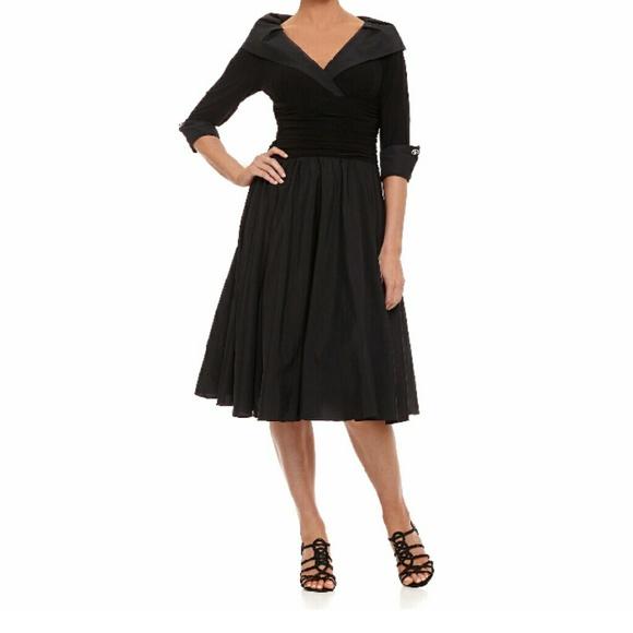 0f74bc4fe58d Jessica Howard Dresses & Skirts - Jessica Howard portrait collar a line  dress