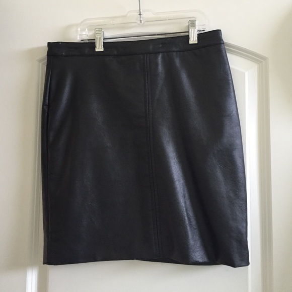 49 h m dresses skirts h m leather skirt from