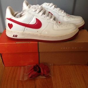 Nike Shoes Rare 2004 Valentines Day Air Force Ones Poshmark